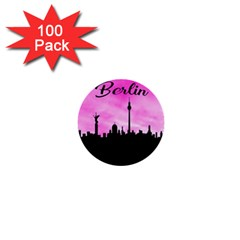 Berlin 1  Mini Buttons (100 Pack)  by Valentinaart