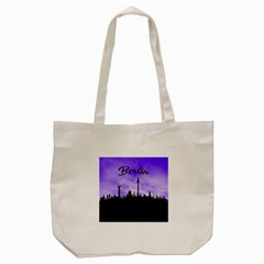 Berlin Tote Bag (cream) by Valentinaart