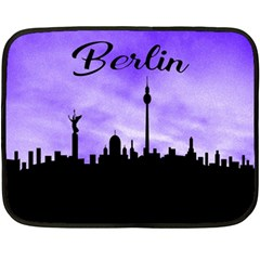 Berlin Fleece Blanket (mini) by Valentinaart