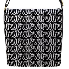 Wtf Flap Messenger Bag (s) by Valentinaart