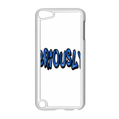 Seriously Apple Ipod Touch 5 Case (white) by Valentinaart