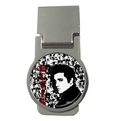 Elvis Presley Money Clips (round)  by Valentinaart