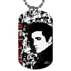 Elvis Presley Dog Tag (one Side) by Valentinaart