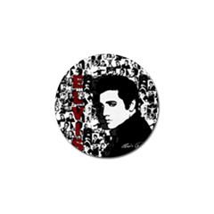 Elvis Presley Golf Ball Marker (10 Pack) by Valentinaart