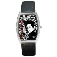 Elvis Presley Barrel Style Metal Watch by Valentinaart