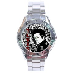 Elvis Presley Stainless Steel Analogue Watch by Valentinaart