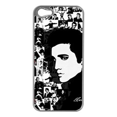 Elvis Presley Apple Iphone 5 Case (silver) by Valentinaart