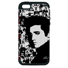 Elvis Presley Apple Iphone 5 Hardshell Case (pc+silicone) by Valentinaart
