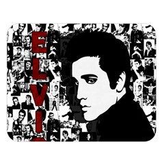 Elvis Presley Double Sided Flano Blanket (large)  by Valentinaart
