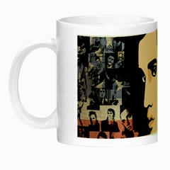 Elvis Presley Night Luminous Mugs by Valentinaart
