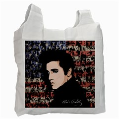 Elvis Presley Recycle Bag (one Side) by Valentinaart