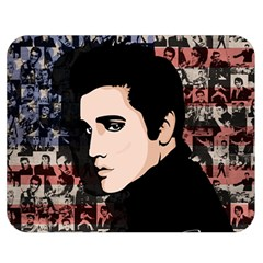 Elvis Presley Double Sided Flano Blanket (medium)  by Valentinaart