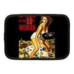 Attack Of The 50 Ft Woman Netbook Case (medium)  by Valentinaart