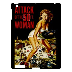Attack Of The 50 Ft Woman Apple Ipad 3/4 Hardshell Case by Valentinaart