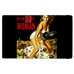 Attack Of The 50 Ft Woman Apple Ipad 2 Flip Case by Valentinaart