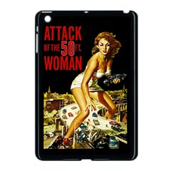 Attack Of The 50 Ft Woman Apple Ipad Mini Case (black) by Valentinaart
