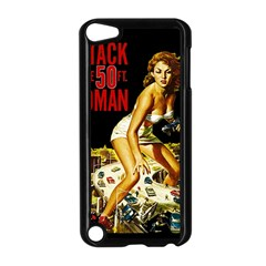 Attack Of The 50 Ft Woman Apple Ipod Touch 5 Case (black) by Valentinaart
