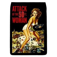 Attack Of The 50 Ft Woman Flap Covers (l)  by Valentinaart
