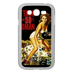 Attack Of The 50 Ft Woman Samsung Galaxy Grand Duos I9082 Case (white) by Valentinaart