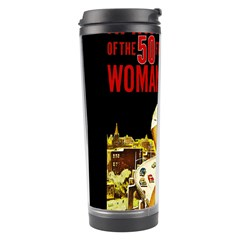 Attack Of The 50 Ft Woman Travel Tumbler by Valentinaart