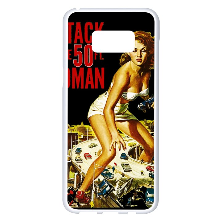 Attack of the 50 ft woman Samsung Galaxy S8 Plus White Seamless Case