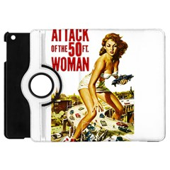 Attack Of The 50 Ft Woman Apple Ipad Mini Flip 360 Case by Valentinaart