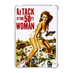 Attack Of The 50 Ft Woman Apple Ipad Mini Hardshell Case (compatible With Smart Cover) by Valentinaart