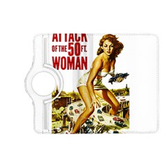Attack Of The 50 Ft Woman Kindle Fire Hd (2013) Flip 360 Case by Valentinaart