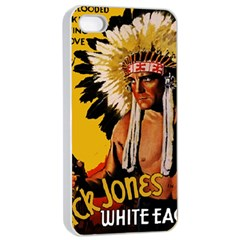 White Eagle Apple Iphone 4/4s Seamless Case (white) by Valentinaart