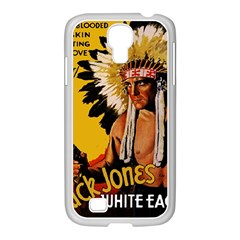 White Eagle Samsung Galaxy S4 I9500/ I9505 Case (white) by Valentinaart