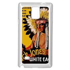 White Eagle Samsung Galaxy Note 4 Case (white) by Valentinaart