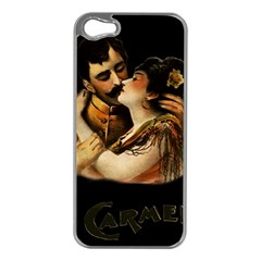 Carmen Apple Iphone 5 Case (silver) by Valentinaart