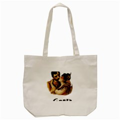 Carmen Tote Bag (cream) by Valentinaart