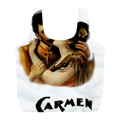 Carmen Full Print Recycle Bags (l)  by Valentinaart