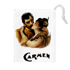 Carmen Drawstring Pouches (extra Large) by Valentinaart