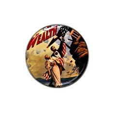 The War Of Wealth Hat Clip Ball Marker by Valentinaart