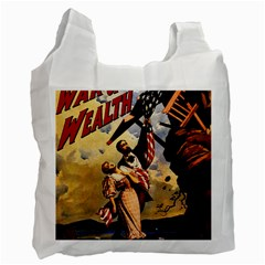 The War Of Wealth Recycle Bag (one Side) by Valentinaart