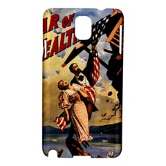 The War Of Wealth Samsung Galaxy Note 3 N9005 Hardshell Case by Valentinaart