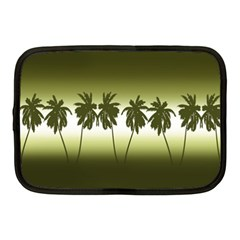 Tropical Sunset Netbook Case (medium)  by Valentinaart