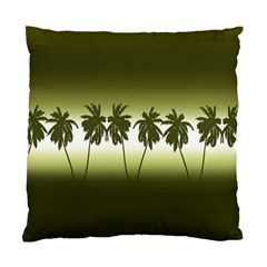 Tropical Sunset Standard Cushion Case (one Side) by Valentinaart