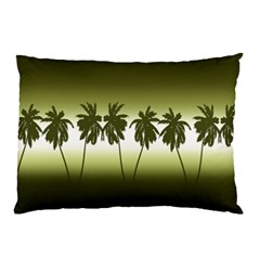 Tropical Sunset Pillow Case by Valentinaart