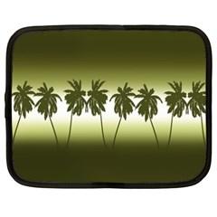 Tropical Sunset Netbook Case (xxl)  by Valentinaart
