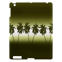 Tropical Sunset Apple Ipad 3/4 Hardshell Case by Valentinaart