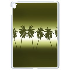 Tropical Sunset Apple Ipad Pro 9 7   White Seamless Case by Valentinaart