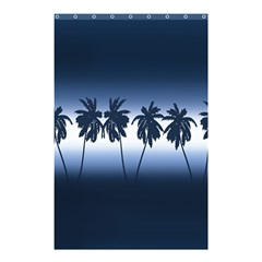 Tropical Sunset Shower Curtain 48  X 72  (small)  by Valentinaart
