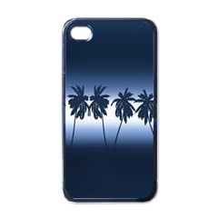 Tropical Sunset Apple Iphone 4 Case (black) by Valentinaart