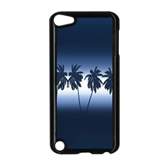 Tropical Sunset Apple Ipod Touch 5 Case (black) by Valentinaart