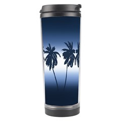 Tropical Sunset Travel Tumbler by Valentinaart