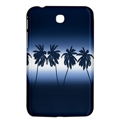 Tropical Sunset Samsung Galaxy Tab 3 (7 ) P3200 Hardshell Case  by Valentinaart