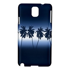 Tropical Sunset Samsung Galaxy Note 3 N9005 Hardshell Case by Valentinaart